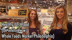 Healthy Fast Food (an interview with Whole Foods Market Philadelphia) #JciniTV #jessicaprocini #laughyourselfskinny #LYS #dieting #healthyfood #diet #wholefoods #wholefoodsmarket