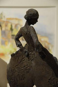 Rond de jambe- Jeannie Griveau - Grès noir