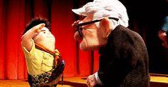 gif gifs disney happy UP Disney Pixar disney gif disney gifs emotions Carl Fredrickson russel up gif