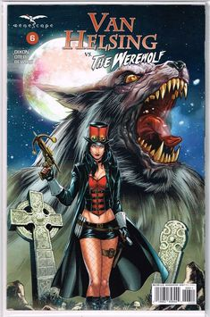 Van Helsing Sword of Heaven #6 Cover C NM 2019 Zenescope Vault 35