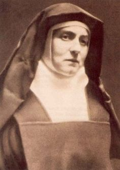 St. Edith Stein, Roman Catholic Nun. Teresa was arrested, and was sent to the concentration camp Teresa died in the gas chambers of Auschwitz. Feastday Aug. 9