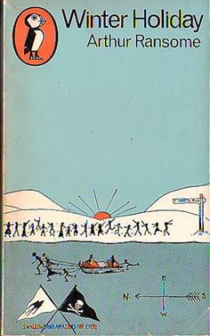 Winter Holiday, by Arthur Ransome. http://eye-candy-for-bibliophiles.blogspot.com.au/2009/01/arthur-ransome-swallows-and-amazons.html