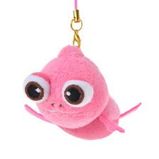 Pascal Mobile Cleaner ❤ Disney Store Japan Strap Plush Key Chain NEW