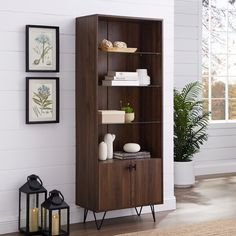 30 Awesome Modern Storage Cabinet Design Ideas - There are many types of storage cabinets at either home or office. As compared to wooden storage cabinets, metal storage cabinets are in much demand t. Glass Shelves In Bathroom, Floating Glass Shelves, Tempered Glass Shelves, Cube Bookcase, Etagere Bookcase, Metal Storage Cabinets, Kitchen Chairs, Wood Shelves, Shelving