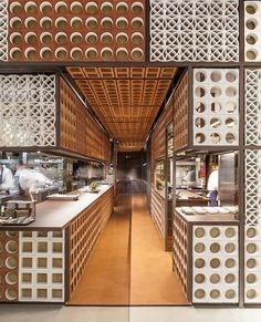 Image 15 of 33 from gallery of 2015 Restaurant & Bar Design Award Winners Announced. Image Courtesy of The Restaurant & Bar Design Awards Design Lab, Pop Design, Cafe Design, Store Design, Architecture Restaurant, Restaurant Design, Restaurant Bar, Interior Architecture, Restaurant Facade