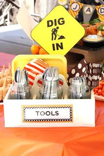 What a Ride!: Jadon's Construction Themed 3rd Birthday Party