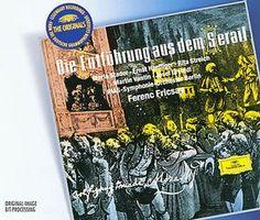 MOZART Entführung aus dem Serail - Fricsay - Deutsche Grammophon