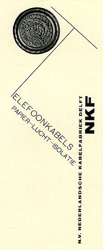 Piet Zwart - NKF (Netherlands Cable Factory) Paper and Air Insulated Telephone cables, 1923 Modern Graphic Design, Graphic Design Inspiration, Graphic Designers, Book Design, Layout Design, Design Art, Modern Typography, Typography Design, Make Beauty