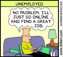 good luck :D Dilbert Comics, Work Humour, Scott Adams, Go Online, Get The Job, Nonfiction, I Laughed, Best Quotes, Fun Stuff