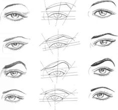Fashion Drawing Eyes