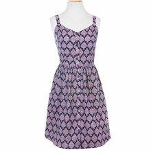 Fair Trade Beach Cottage Dress Purple