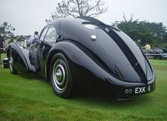 1935 Aerolithe Protype. Recognized as world's rarest car.