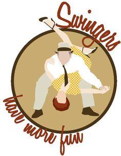 Swingers have more fun! Shut Up And Dance, Lets Dance, Dance The Night Away, Swing Jazz, Swing Dancing, Dance Memes, Dance Quotes, East Coast Swing, Rockabilly Art