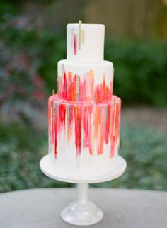 27 Jewel-Toned Wedding Cakes That Are Totally Elegant | Brides
