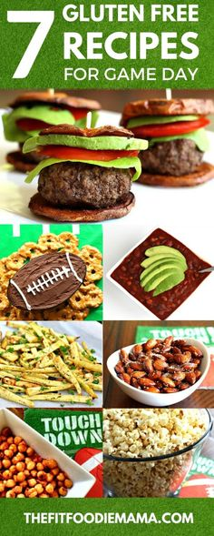 SCORE! Serve touchdown worth healthy gluten free and vegan recipes for game day! {SuperBowl 50 recipes, paleo, dairy free, football food} TheFitFoodieMama.com
