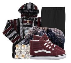 """Untitled #1053"" by princessjay003 on Polyvore featuring Uniqlo, Vans and Anita Ko"