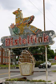 Distelfink Drive-In Restaurant, near Gettysburg, PA.