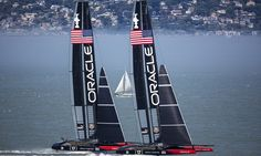 ORACLE TEAM USA is a two-time America's Cup winner preparing to win a third America's Cup... http://oracle-team-usa.americascup.com/