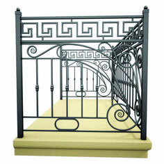 Suitable balcony railing height extender	 only on this page