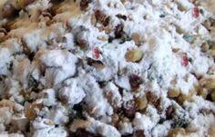 Recipe for Koliva - Wheat Grain for Greek Orthodox Memorial Service Greek Sweets, Greek Desserts, Greek Recipes, Family Recipes, Good Healthy Recipes, Snack Recipes, Cooking Recipes, Funeral Food, Greek Cookies
