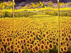 Sunflowers plenty, .. van Gogh? I dont think so!