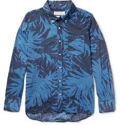 Remi Relief - Button-Down Collar Printed Cotton-Voile Shirt | MR PORTER