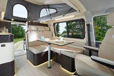 Mercedes Sprinter Camper, Bus Camper, Van Camping, Mobile Home, Campervan, Van Life, T4 Caravelle, House, Motorcycles