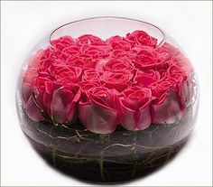 Ariston Flowers and Boutique - Rose Bowl