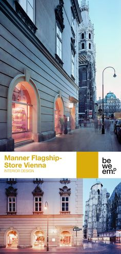 The first Manner flagship store leads back to the origins: Josef Manner I, opened his first shop in 1890 at Stephansplatz 6 and was able to win St. Stephen's Cathedral as a trademark - the Viennese landmark still adorns the pink delicacy today. At this historic location, BWM was commissioned with the design of the Manner flagship store for the first time. PROJECT_Manner Flagshipstore Vienna DEPARTMENT_Interior Design LOCATION_Vienna Images: © Rupert Steiner Manners, Origins, Vienna, Big Ben, Cathedral, Interior Design, The Originals, Store, Building