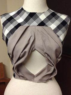 Shingo Sato experimental bodice,  patternmaking
