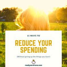 Trying to cut your budget and save money can be difficult, so here are my top 11 ways to reduce your spending without giving up the things you love! Finance Tips, Giving Up, Money Saving Tips, Einstein, Budgeting, Investing, Squad, Posts, Female