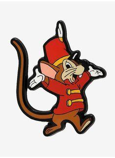 3960dd977 BoxLunch : Disney Dumbo Timothy Mouse Ta-da Enamel Pin - BoxLunch Exclusive