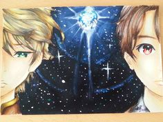 Acryl drawing *Aldnoah Zero* by aBunny15.deviantart.com on @DeviantArt
