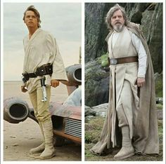 Belt up to his nipples - Luke really is an old man.