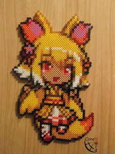 Perler Beads por EeveePower en DeviantArt - Umbreon