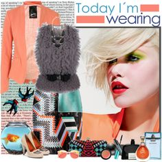 """Today I'm wearing"" by fashion-mariquita-camy ❤ liked on Polyvore"