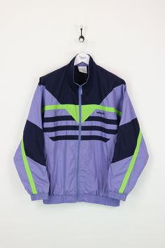 Adidas Shell Suit Jacket Purple Navy XL   Vendor  AdidasType  Jackets    CoatsPrice  30.00 Very good condition apart from small marks pictured. 34ca1c195d78e