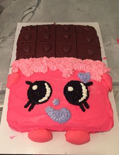 Shopkins cake   Cheeky chocolate    Shopkins party