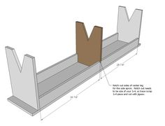 Primitive Bench & other building plans
