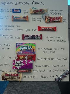 On pinterest candy grams 50th birthday cards and candy bar poems