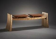 Flare: Brian Hubel: Wood Bench | Artful Home