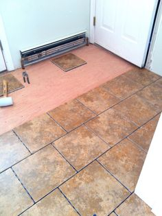 Snapstone Floating Tile Floor Before It Is Possible To Install A Ceramic Or Stone Flooring You Should Understand Whe