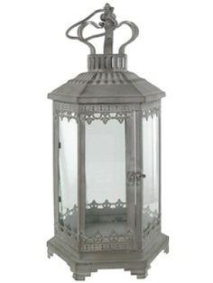 Antique Gray Lanterns (2) - $50