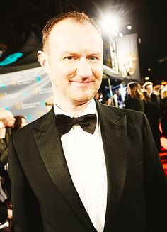 """""""Mark Gatiss, on the red carpet at the EE BAFTA 2015 Royal Opera House, London — 8th February 2015"""""""
