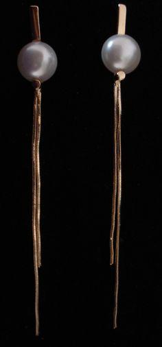 Brinco de Pérola Grande Cod 218 ME