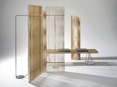 Paravent design en bois  PLUS by Atelier Oï