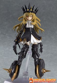Black Rock Shooter TV Animation Figma Action Figure Chariot 14 cm ( Max Factory )