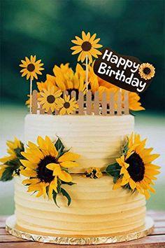 Yellow Birthday Parties, Backyard Birthday Parties, Birthday Party Decorations Diy, Birthday Brunch, Birthday Cake Decorating, Summer Birthday, Birthday Text, 60th Birthday, Baby Shower Decorations