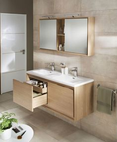 Modern Bathroom Furniture Storage – Modern bathroom vanities are among the main fittings in contemporary bathrooms that greatly contributes to performance which could make or break up the general…More Bathroom Floor Plans, Bathroom Flooring, Bathroom Furniture, Bathroom Interior, Modern Bathroom, Antique Furniture, Contemporary Bathrooms, Furniture Storage, Rustic Furniture