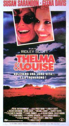 Thelma & Luise - MGM Home Entertainment  Un classico del viaggio al femminile, con due attrici di prima grandezza, per restituire la forza e la determinazione del percorso interiore, prima che tra le strade del mondo.
